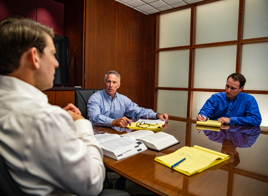 Murray | Lobb Attorneys Client Meeting